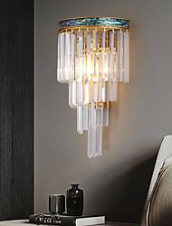 cheap -Crystal Modern Wall Lamps Wall Sconces Bedside Light Bedroom Dining Room Living Room Crystal Wall Light 220-240V 110-120V 5 W