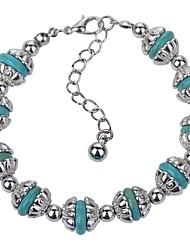 cheap -turquoise bracelet bohemian ethnic style jewelry turquoise pendant bracelet