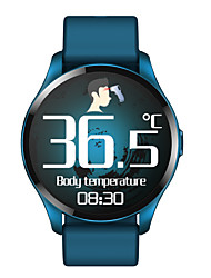 cheap -T88 Smartwatch Fitness Running Watch Bluetooth Pedometer Activity Tracker Sleep Tracker Long Standby Media Control with Camera IP 67 46mm Watch Case for Android iOS