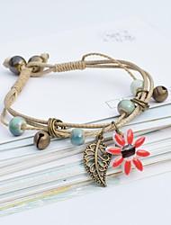 cheap -Women's Bracelet Geometrical Heart Stylish Simple Boho Plastics Bracelet Jewelry Light Pink / Purple / Red For Daily Promise