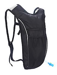 cheap -3 L Waterproof Bike Hydration Pack & Water Bladder Cycling Backpack Waterproof Cycling Multi layer Bike Bag Terylene Bicycle Bag Cycle Bag Hiking Outdoor Exercise Camping