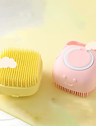 cheap -Bath Brush Silicone Massage Scrubber Multifunction Bathroom For Babies Body Cleaning Skin Exfoliating Scrubbing Tool for Home