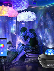 cheap -LED Strip Lights Music Sync 2x7.5M with Starry Sky Projector Light Dream Cloud Ceiling Pendant Light Combination 50ft Colour Changing 5050 RGB LED Light Strips Built-in Bluetooth App Controlled