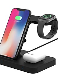 cheap -TOTU F16 3-in-1 Wireless Charger Stand Qi 15W Fast Charging Station For Phone iWatch AirPods