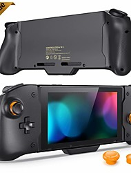 cheap -Upgrade For Nintendo Switch Gamepad Controller Handheld Grip Double Motor Vibration Built-in 6-Axis Gyro Joy-con with Storagebag