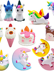 cheap -5 pcs Fidget Toys Squishy Antistress Entertainment Push It Squishe Pushit unicorn For Children adults Stress Relief Anti-stress Squeeze