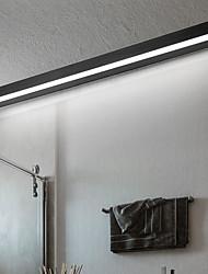 cheap -Matte LED Mirror Light Modern Black White Bathroom Lighting Bathroom Aluminum 40cm 70cm Wall Light IP20 110-240V