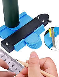 cheap -Self Locking Profile Copy Gauge Contour Gauge Standard 12cm Wide Duplicator Wood Marking Tool Tile Laminate Tiles General Tools