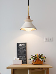 cheap -LED Pendant Light Modern Nordic White Cement Bedside Light Personality Art Model Room Living Room Restaurant Hotel Bar