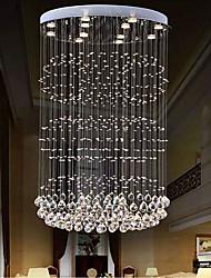 cheap -Crystal Chandelier Hanging Ceiling Lamp Modern Long Staircase 120cm Lighting Indoor Lighting Fixtures Lustre Cristal Loft Chandelier Pendant Lights 110-240V