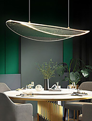 cheap -LED Pendant Light Modern Kitchen Island Light Acrylic 60 cm Metal Artistic Style Modern Style Stylish Painted Finishes 220-240V 110-120V