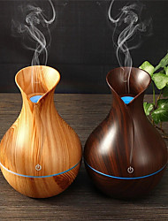 cheap -Air Humidifier 130ml USB Mechanical Household Single Nozzle Cold Aroma Diffuser Adjust Air Humidity Color Light Heavy Ultrasonic Humidifier
