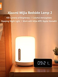 cheap -Original Xiaomi Mijia Bedside Lamps 2 Bluetooth WiFi Touch Panel APP Control Works with Mijia Voice Control Desk Night Lights