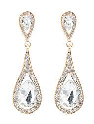 cheap -long diamond earrings, daily all-match trend accessories, luxury drop earrings earrings