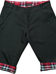 cheap -Men's Basic Shorts Bermuda shorts Pants Solid Colored Knee Length Black Khaki Dark Gray Gray