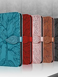 cheap -3D Pattern Flip Wallet Leather Case For Samsung Galaxy S21 Ultra S21 Plus S20 Note 20 Ultra A72 A52 A42 A32 A71 A51 A41 A21 Magnetic Flip Folio Full Body Protective Cover with Card Slots Kickstand