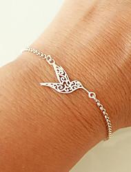 cheap -Women's Bracelet Geometrical Heart Stylish Simple Boho Alloy Bracelet Jewelry Silver / Golden For Daily Promise