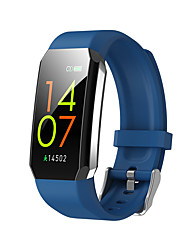 cheap -T3 Smartwatch Fitness Running Watch Bluetooth Temperature Monitoring Pedometer Activity Tracker Long Standby Media Control with Camera IP 67 19mm Watch Case for Android iOS