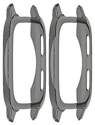 cheap -tencloud cases compatible with garmin venu sq smartwatch men women watch case soft tpu shockproof bumper cover screen protector case for venu sq smart watch only (black+black)