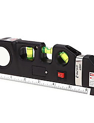 cheap -4 in 1 laser measuring tool includes imperial and metric linear measurements infrared laser level tape cross line laser tape