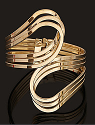 cheap -Women's Cuff Bracelet Classic Fashion Fashion Alloy Bracelet Jewelry Gold For Gift Date Festival