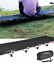 cheap -Camping Cot Portable Ripstop Lightweight Aluminum Alloy Oxford for Camping / Hiking Hunting Fishing Cycling / Bike Spring Summer