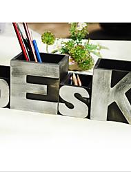 cheap -Pen Holder American Style Rural Retro Creative Home Size Letter Combination Pen Holder Desktop Decoration