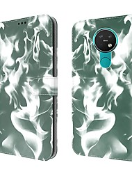 cheap -Phone Case For Nokia Full Body Case Nokia 5.3 Nokia 6.2 Wallet Card Holder Shockproof Graphic PU Leather