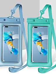 """cheap -Universal Waterproof Pouch for iPhone 13 12 11 Pro Max Xs Max XR X 8 7 Samsung Galaxy S21 Ultra S20+  Huawei Mate 40 Pro Xiaomi Mi 11 Oneplus up to 7"""" Cellphone Dry Bag Case with Lanyard"""