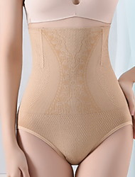 cheap -Corset Women's Control Panties Seamless Breathable Comfortable Underbust Corset Tummy Control Basic Solid Color Fashion Seamed Not Specified Nylon Polyester Christmas Halloween Wedding Party Birthday