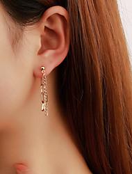 cheap -Earrings Tassel Fringe Fashion Stylish Simple Vintage European Earrings Jewelry Silver / Gold For Party Evening Street Prom Date Festival