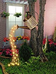 cheap -Solar Outdoor Lights LED Garden Patio Lamp Waterproof Kettle Shaped LED Fairy Light Lawn Lamp Garden Decor Landscape Yard Lawn Fence Lighting