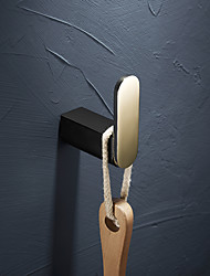 cheap -Robe Hook Creative Modern Brass Wall Mounted Bathroom Single Hoook Golden 1pc