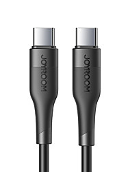 cheap -Joyroom USB C Cable High Speed Quick Charge 3 A 1.8m(6Ft) 1.2m(4Ft) 0.25m(0.8Ft) TPE For Samsung Xiaomi Huawei Phone Accessory