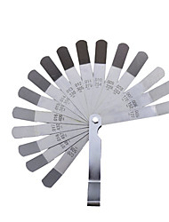 cheap -16 Blade Metric Gauge Caliper 0.127-0.508mm Stainless Steel Gap Fill Measuring Tool for Engine Valve Adjustment