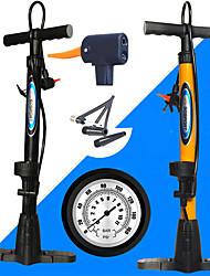 cheap -Mini Bike Pump Portable Accurate Inflation For Road Bike Mountain Bike MTB Recreational Cycling Fixed Gear Bike Cycling Bicycle Steel Black Orange