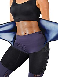 cheap -Body Shaper Shapewear Sports Fitness Gym Workout Exercise & Fitness Stretchy Durable Tummy Control Tummy Fat Burner Hot Sweat For Men Women