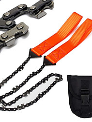 cheap -Handheld Mini Survival Chain Saw Emergency Wire Saws Camping Hiking Handsaw Garden Wood Cutting Tools