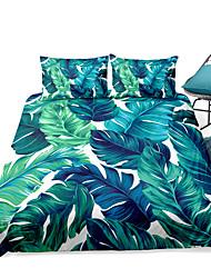 cheap -Duvet Cover Sets 3 Piece Rayon / Polyester 3D Rainbow Reactive Print Bohemian Style
