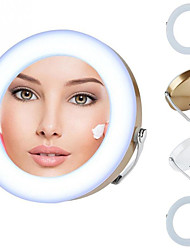 cheap -LED Lights Makeup Mirror With 3X Magnification HD Mirror Fantastic Cosmetic Mirror Women Accessories