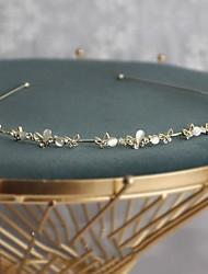 cheap -Hair Band Opal Rhinestone Headband Retro Fairy Headdress Hair Accessories For Lady Women