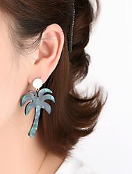 cheap -Fashion Fan-Shaped Front And Rear Earrings Alloy Inlaid Rhinestone Earrings Two Ways To Wear 2021