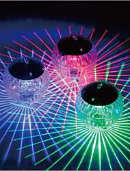 cheap -Solar Pool Lights Outdoor Float Light 3pcs 2pcs 1pcs Floating Light LED Disco Light Swimming Pool Waterproof LED Solar Power Multi Color Changing Water Drift Lamp Security