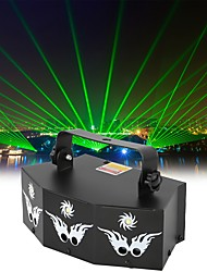 cheap -RGB Laser White Strobe Light Stage Effect Lighting 7CH DMX Sound Control for DJ Club Party Show