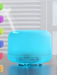 cheap -500ml Air Humidifier Essential Oil Diffuser with Lights Electric Aromatherapy Aroma Diffuser with Remote Control for Summer Cooling