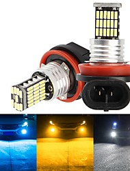 cheap -2Pcs H1 Motorcycle Lamps  H7 H11 H8 9006 HB4 9005 HB3 Car Headlight Bulbs LED Lamp with 4014 Chip Auto Fog Lights Running Light