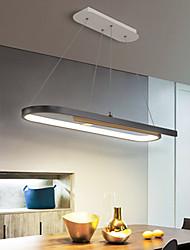 cheap -LED Pendant Light Kitchen Island Light Modern Black White 58cm 78cm Single Design Chandelier Aluminum Artistic Style Modern Style Stylish Painted Finishes 220-240V 110-120V