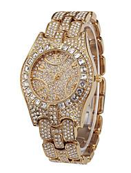 cheap -Missfox marys men's watch high-end fashion diamond waterproof luxury stainless steel quartz watch