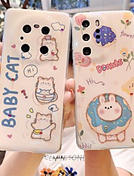 cheap -Phone Case For Huawei Back Cover P40 P40 Pro Mate 40 Mate 40 Pro P30 P30 Pro P30 Lite P Smart 2021 Mate 30 Mate 30 Pro Shockproof Dustproof Cartoon TPU