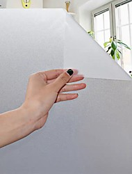 cheap -Frosted Glass Film Without Adhesive Type Translucent Opaque Bathroom Office Partition Door Electrostatic Glass Film 60*300cm